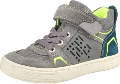 Lurchi, Sneakers High für Jungen, WMS Weite W, grau