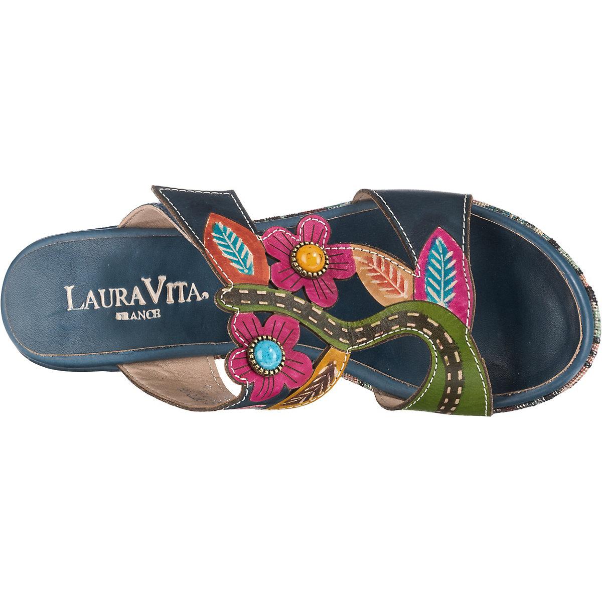 Laura Vita, Komfort-pantoletten, Dunkelblau