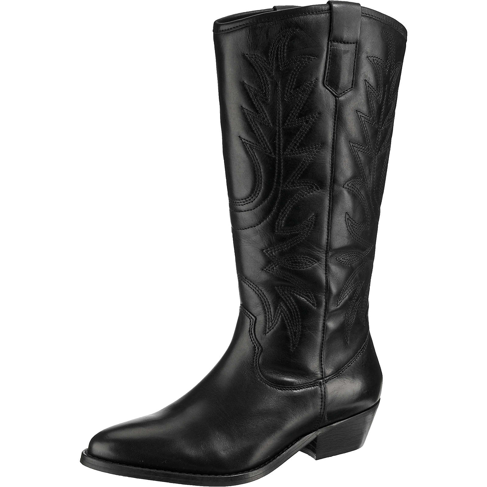 BULLBOXER Klassische Stiefel schwarz Damen Gr. 41