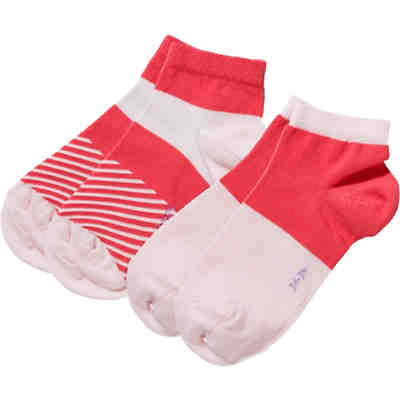 Kinder Sneakersocken Colour Block 2er-Pack