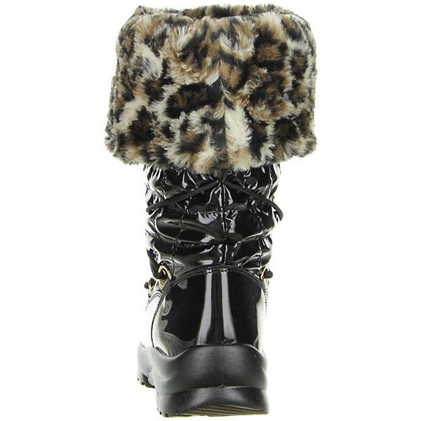 San Bernardo, Damen Winterstiefel SnowStiefel Lackoptik schwarz, schwarz  Gute Qualität beliebte Schuhe