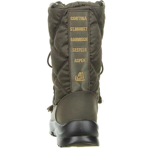 San Bernardo, Damen Winterstiefel SnowStiefel (02-6383brn) braun, braun  Gute Qualität beliebte Schuhe