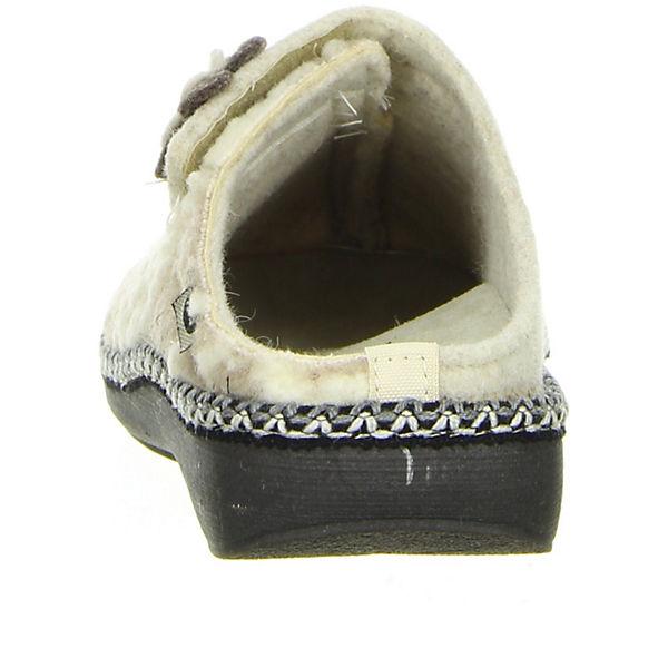Air on Feet, Pantoffel Damen beige, beige  Gute Qualität beliebte Schuhe