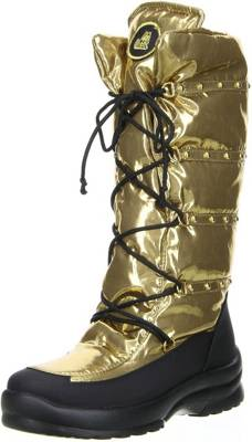HIP Kinder Stiefel Gold H1037
