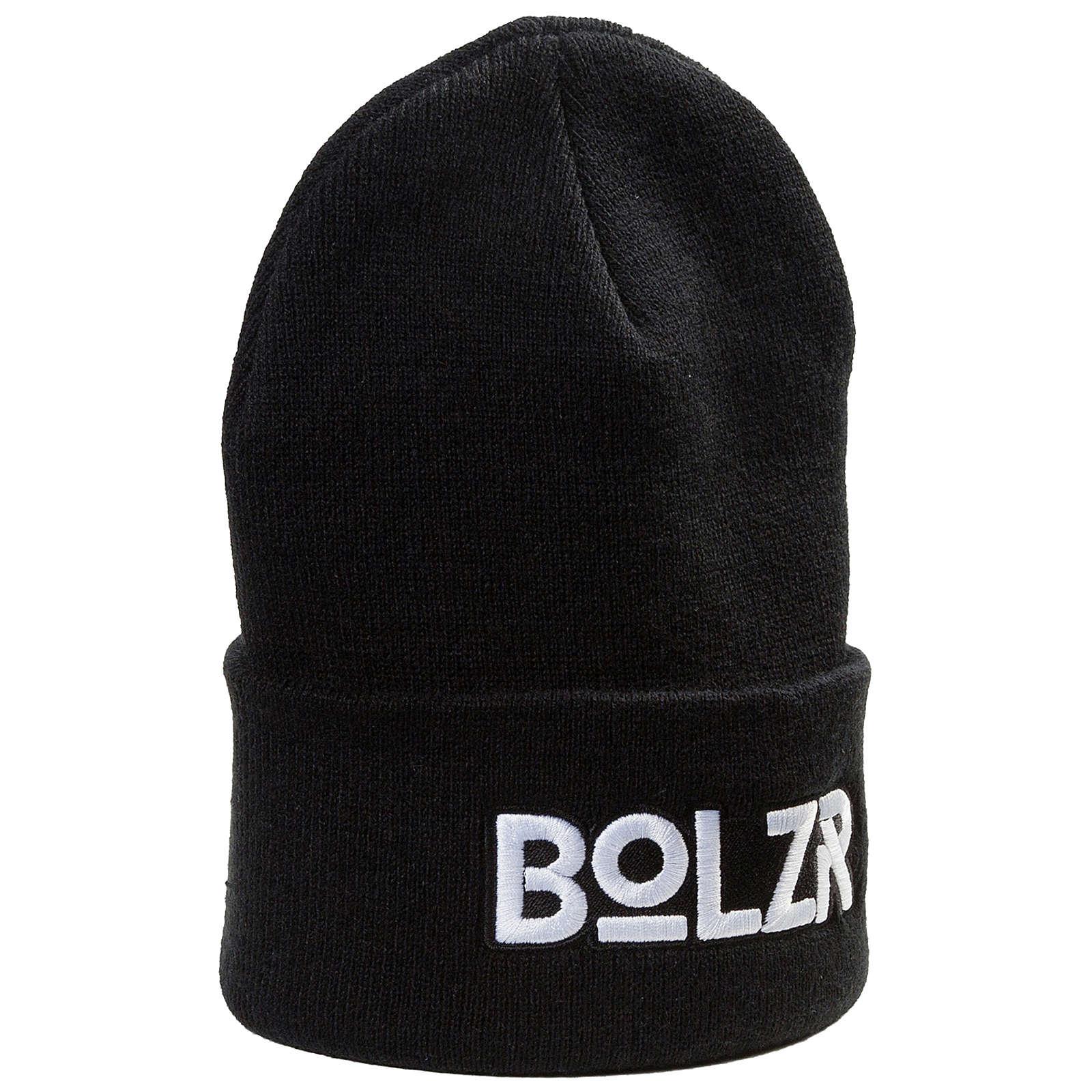 Bolzr Beanie Caps schwarz/weiß Gr. one size