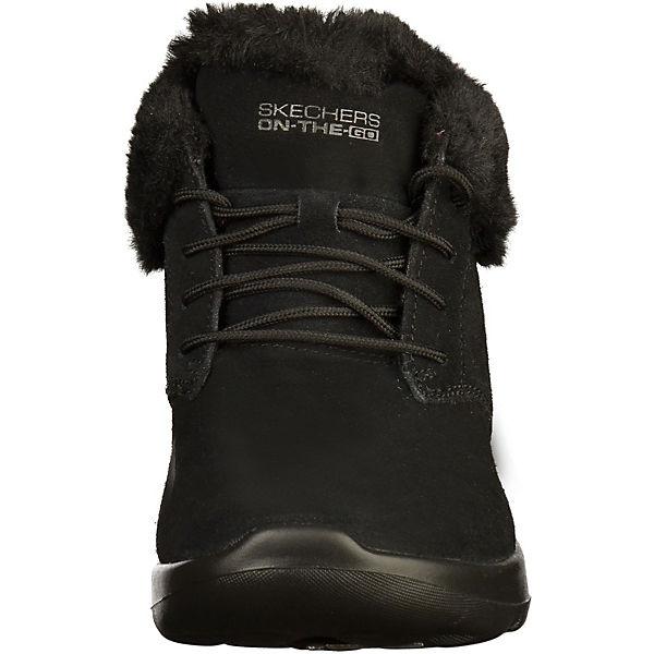 SKECHERS, Stiefelette Schnürstiefeletten, schwarz  Gute Qualität beliebte beliebte beliebte Schuhe baa8f7