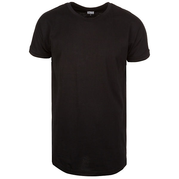 Long Shaped Turnup T-Shirt Herren