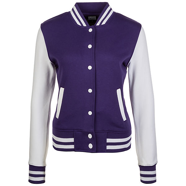 2-tone College Jacke Damen Trainingsjacken