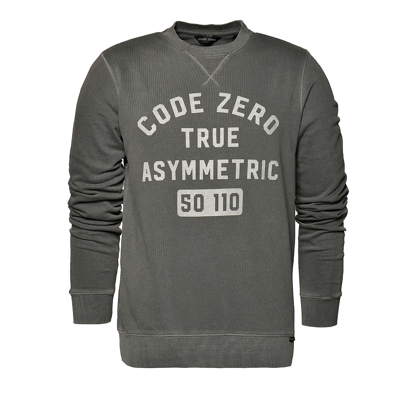 CODE-ZERO Sweatshirt Batten Sweater anthrazit Herren Gr. 44/46