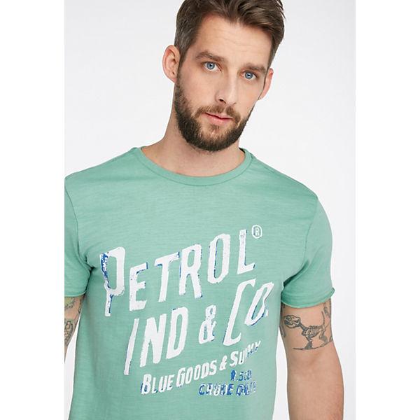 T shirt T Petrol Industries Industries shirt Petrol Petrol T shirt Grün Industries Grün CQxshtrd