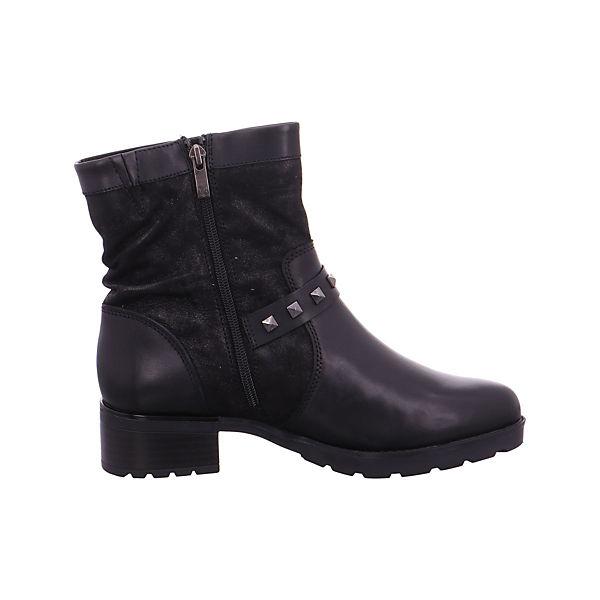 CAPRICE, Biker Stiefel schwarz, schwarz Qualität  Gute Qualität schwarz beliebte Schuhe 12dad4