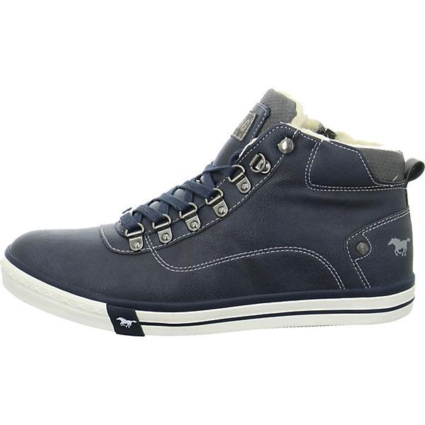 Blau Mustang High Mustang Blau Mustang 4103601 High Sneakers Sneakers Sneakers 4103601 nw8ON0yvm