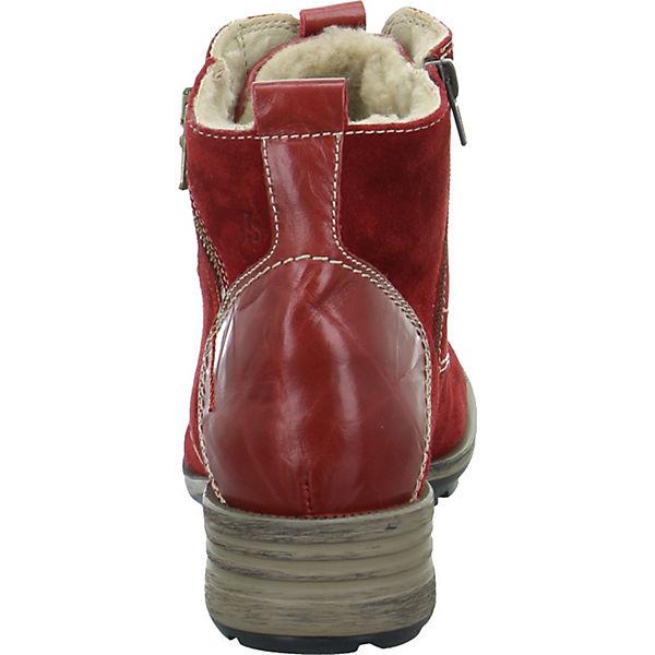 Josef Seibel, Stiefeletten Sandra 75, rot  Gute Qualität beliebte Schuhe