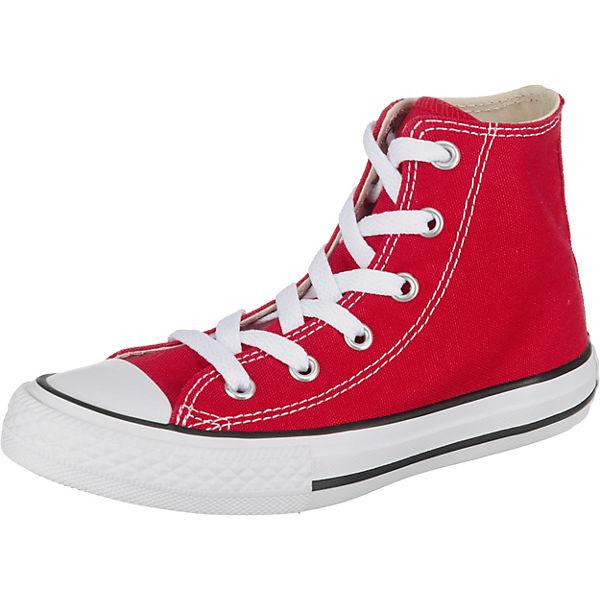 3ba9ab21073 CONVERSE, Kinder Sneakers High YTHS C/T ALLSTAR HI RED, rot | mirapodo