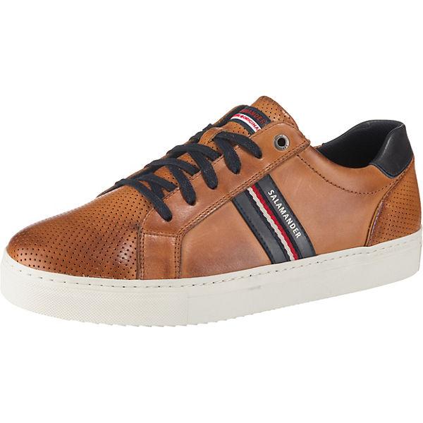 0931a8de80e22 SALAMANDER, Ginotto Sneakers Low, cognac