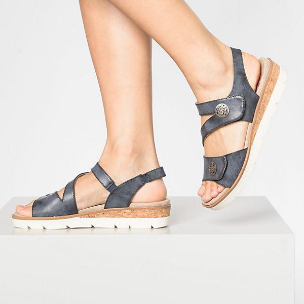Relife, Keilsandaletten, blau  Gute Qualität beliebte Schuhe