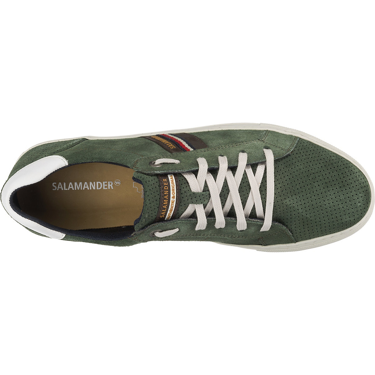 Salamander, Ginotto Sneakers Low, Dunkelgrün