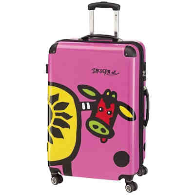 Check In Kuh Family 4-Rollen-Trolley XL 76 cm