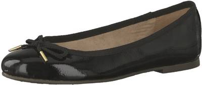 Tamaris, Klassische Ballerinas, schwarz Modell 1