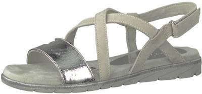 Tamaris, Klassische Sandalen, grau