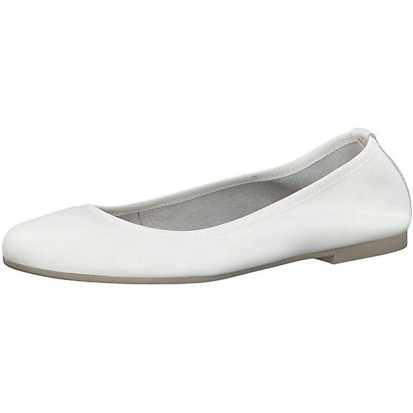 Tamaris Ballerinas Weiß Klassische Tamaris Klassische Weiß Ballerinas Tamaris tChQBosxrd