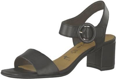 Tamaris, Klassische Sandaletten, schwarz