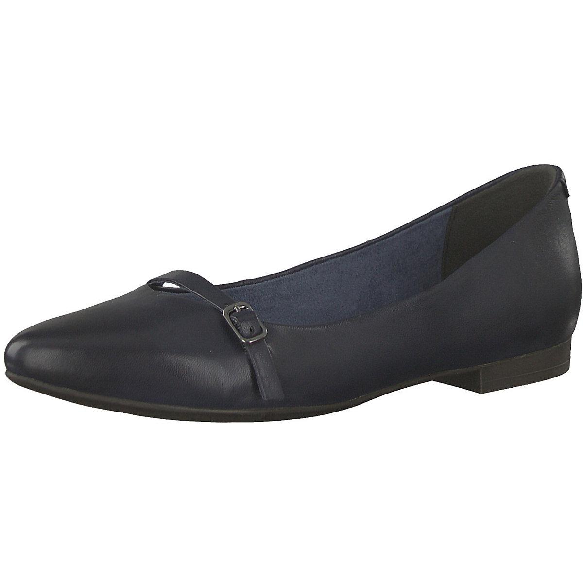 Tamaris, Klassische Ballerinas, dunkelblau  Gute Qualität beliebte Schuhe