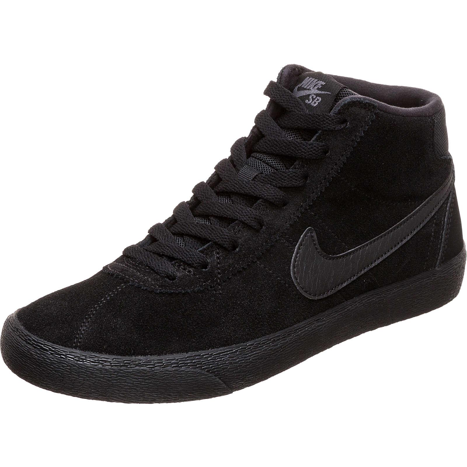 NIKE SB Bruin High Sneaker Damen schwarz Damen Gr. 44,5
