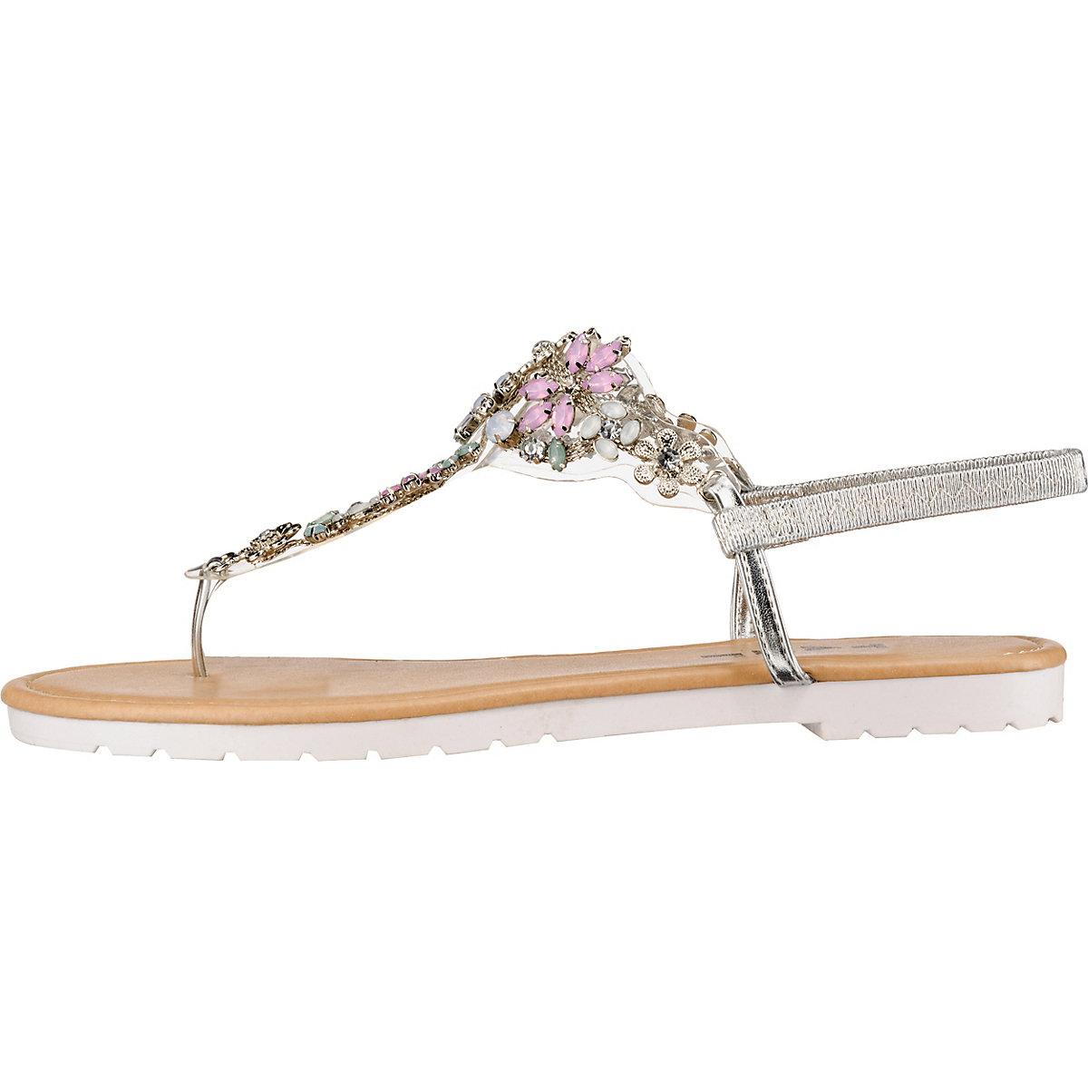 Taxi Shoes, T-steg-sandalen, Silber Artikelnummer:10277041