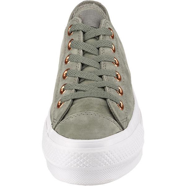 Mint Taylor All Clean Lift Low Converse Star Chuck Sneakers 5AR34jqLSc