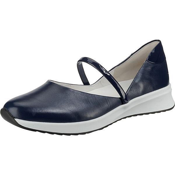 new products fee07 8dbc6 högl, Sunny Riemchenballerinas, blau
