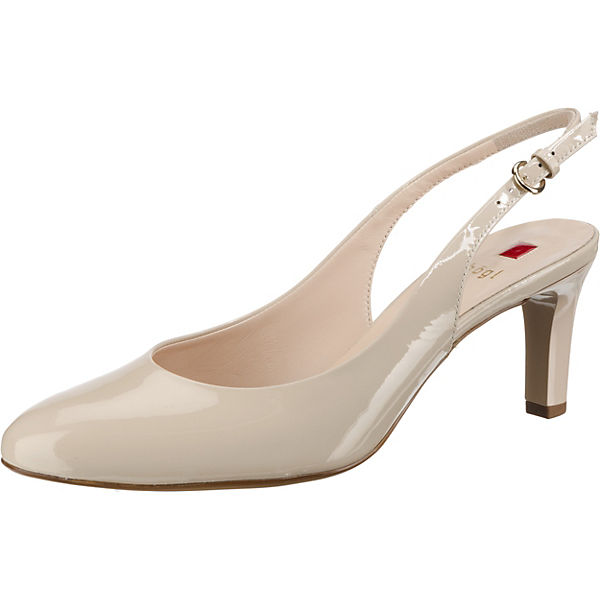 watch 13fc7 131b9 högl, Eterna Sling-Pumps, creme