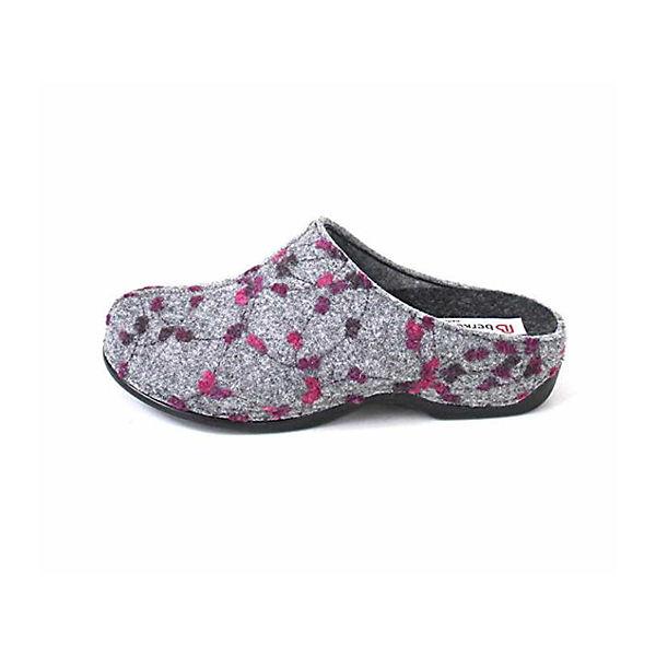 Berkemann, Hausschuhe grau, grau, grau, grau  Gute Qualität beliebte Schuhe 3eb289