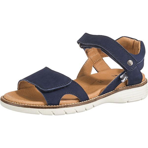 Gutes Angebot ZEBRA Sandalen Weite M für Mädchen blau