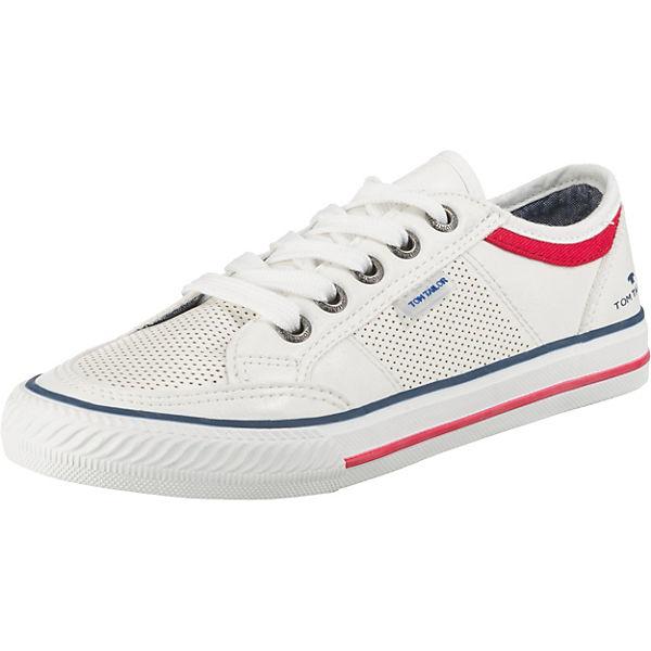 Gutes Angebot TOM TAILOR Sneakers Low für Jungen weiß