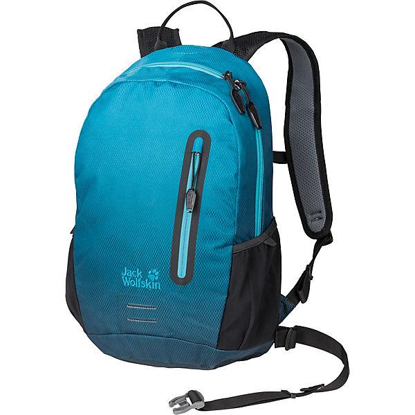 low priced 87b32 92d7f Jack Wolfskin, Rucksack HALO 12L, blau