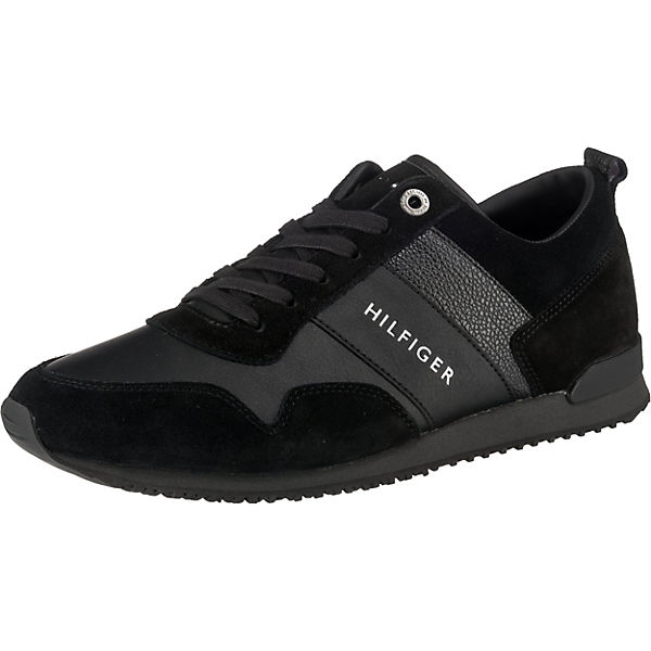 ICONIC LEATHER SUEDE MIX RUNNER Sneakers Low