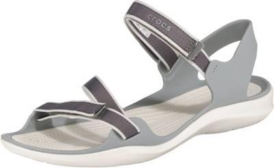 Crocs »Swiftwater Webbing Sandal W« Sandale mit Riemchen