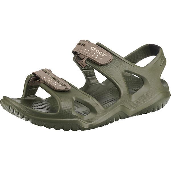 Beste Wahl crocs Swiftwater River Sandal M Agr/Kha Komfort-Sandalen khaki