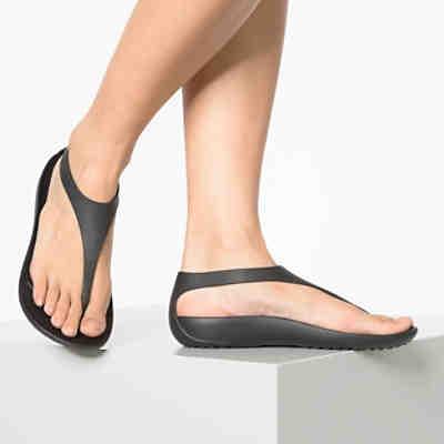 015f3a92c3def2 ... Crocs Serena Flip W Blk Blk Komfort-Sandalen 2