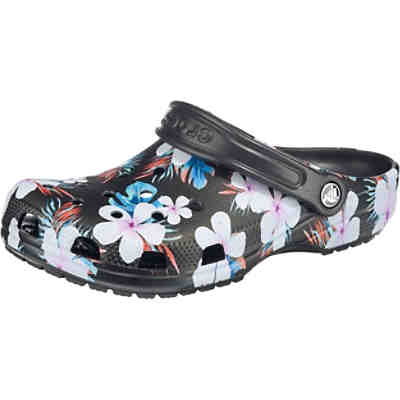 Classic Seasonal Graphic Clog Blk/Flr Clogs