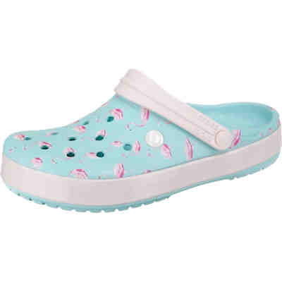 8e0cc7d2cd7e04 Crocband Seasonal Graphic Clog IcB Pink Clogs ...