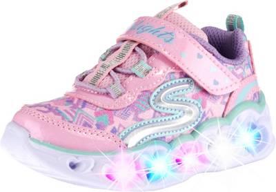 Blinkies Heart Lights MädchenPink SkechersSneakers Low Für 3RL45Aj
