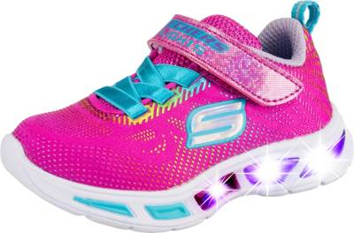 SKECHERS, Sneakers low Blinkies LITEBEAMS GLEAM N' DREAM für Mädchen, pink