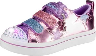 SKECHERS, Sneakers High Blinkies, für Mädchen, Glitzer