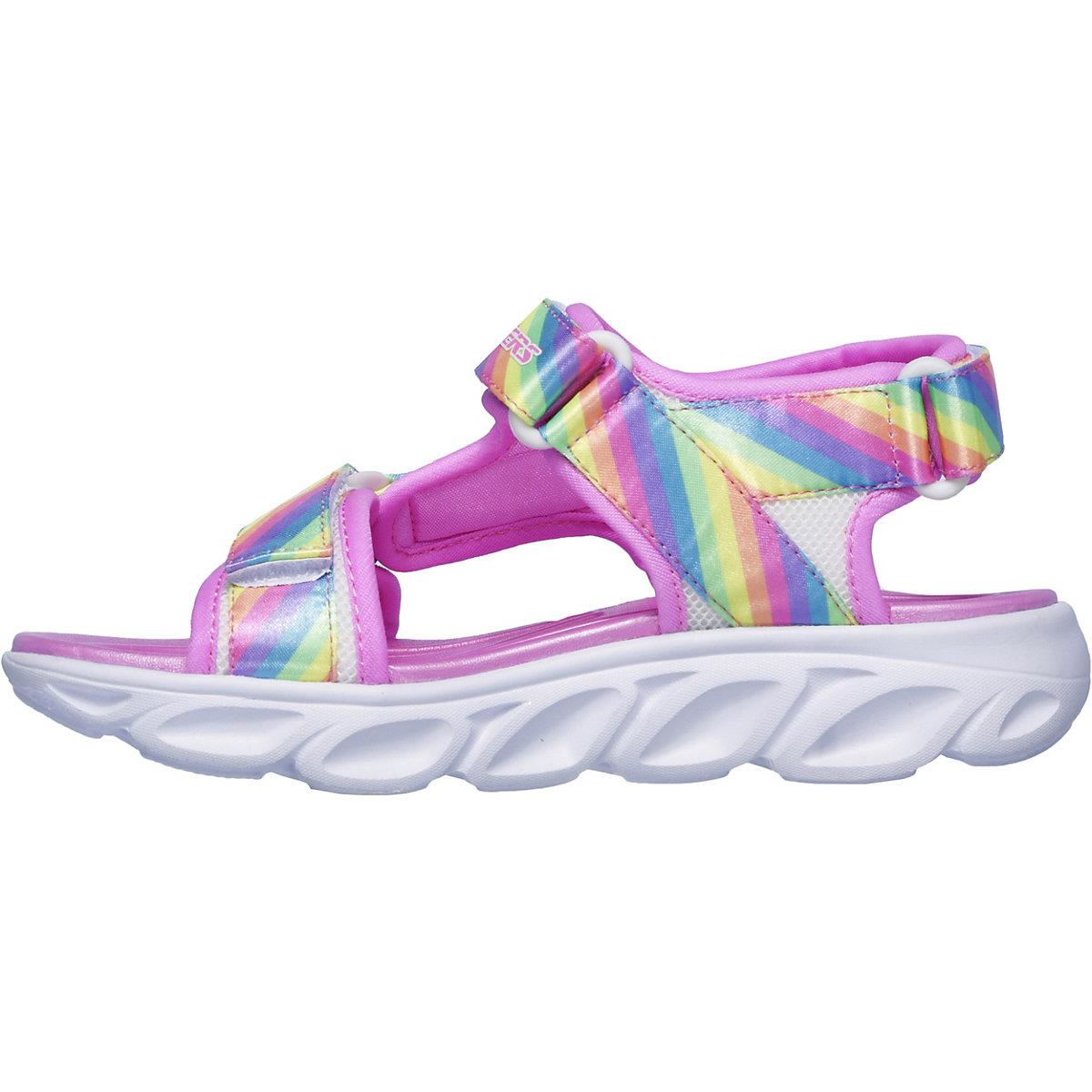 Skechers, Sandalen Blinkies Hypno-splash Für Mädchen, Pink