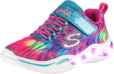 SKECHERS, Sneakers Low Blinkies Power Petals Flowerspark zQNyA