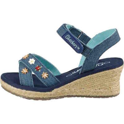 595e08453a5e4 ESPRIT, Sandalen Sun Pineapple für Mädchen, blau