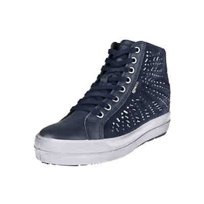 Hightop-Sneaker mit Strass