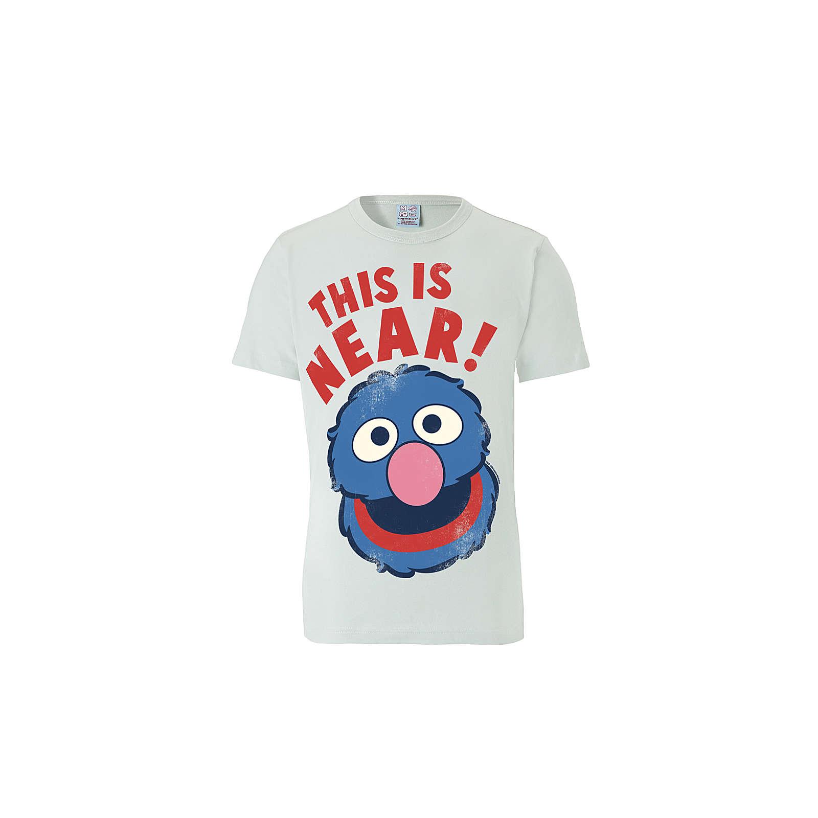 7a9f6ca1e0 Logoshirt® Logoshirt T-Shirt Grobi- Sesamstrasse - Near/Far T-Shirts